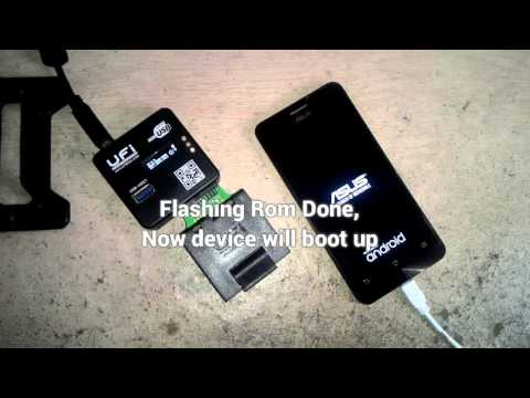 Complete Step How To Replace EMMC Asus Zenfone 5 Using KMVTU 16GB With UFiBOX