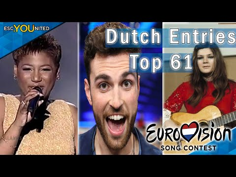 The Netherlands in Eurovision 1956-2019 | Readers' Top 61