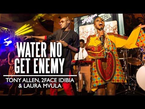 """Water No Get Enemy""  Tony Allen, 2face Idibia & Laura Mvula Felabration 2015"