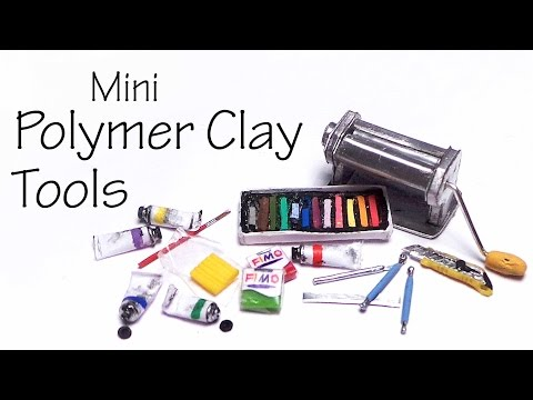how to make clay charms for beginners