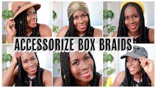 HOW TO ACCESSORIZE BOX BRAIDS – SIX EASY WAYS | ISOWA GALLERY