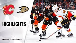 Flames @ Ducks 10/20/19 Highlights