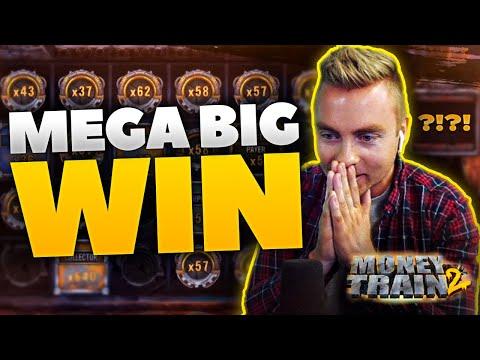 MEGA BIG WIN on MONEY TRAIN 2 by KONGEBONUS