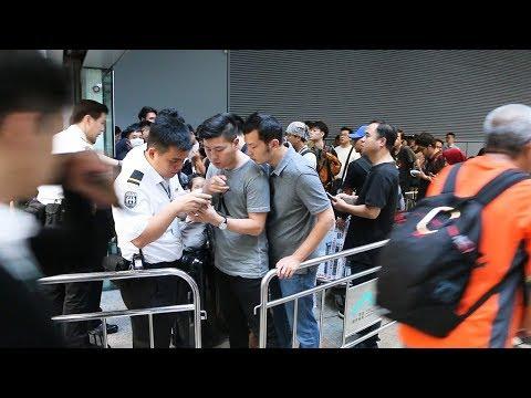 香港国際空港への入場規制 空港内デモが縮小