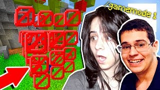 DOIS YOUTUBERS HACKERS NO MINECRAFT!