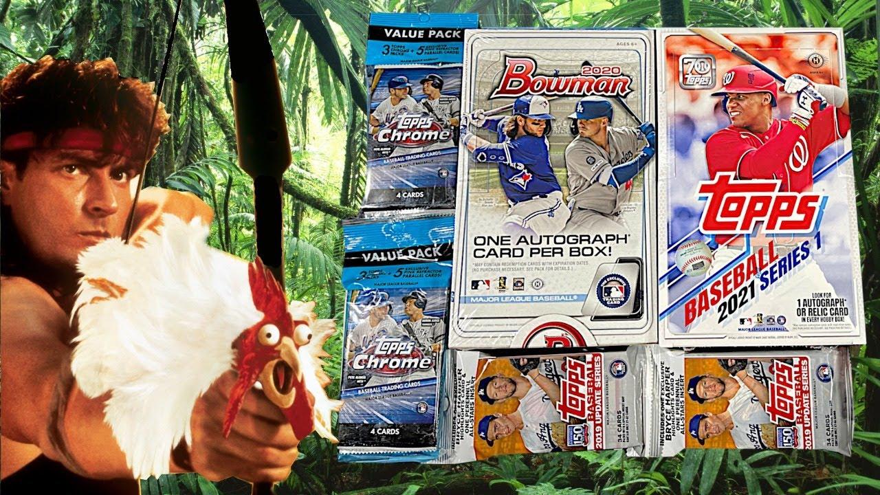 LIVE Hobby Box Blitz Part Deux - Baseball Cards Opening
