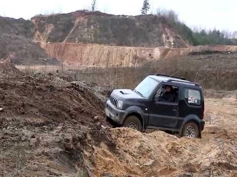 Suzuki Jimny, Test-drive, acceleration, off-road