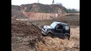 Suzuki Jimny, Test-drive, acceleration, off-road