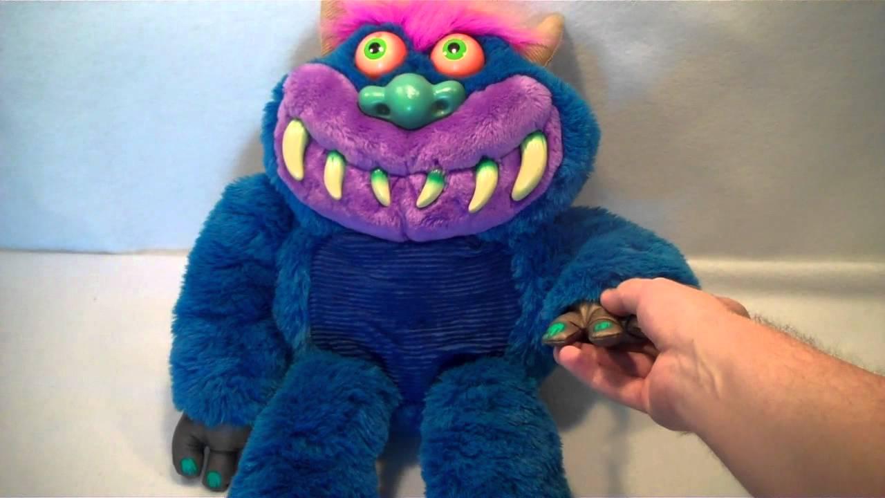 2001 Tcfc American Greetings Talking My Pet Monster Plush Toy Doll