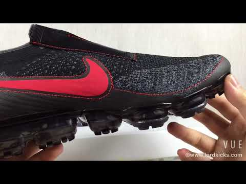 NIKE AIR VAPORMAX FLYKNIT OG 2018 : Pure Platinum / University Red Swoosh (Unboxing)