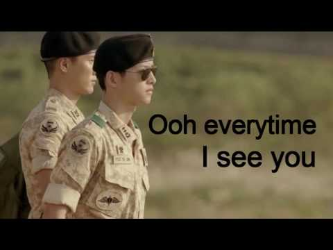 EVERYTIME Chen Ft Punch OST Descendants Of The Sun Lyric