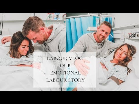 LABOUR VLOG | OUR EMOTIONAL LABOUR STORY