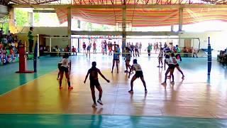 Palarong Pambansa 2018 Secondary Volleyball Girls WVRAA vs NMRAA
