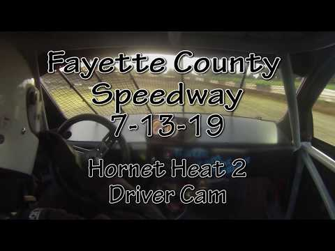 Fayette County Speedway Hornet Heat 2 Driver Cam