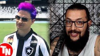 Felipe Neto patrocina Botafogo com sua loja de coxinhas, Cauê Moura tem canal deletado