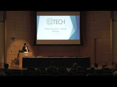 E2Tech Expo 2017-Morning Session in Hannaford Hall