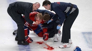 Top 5 NHL Injuries (BEWARE)