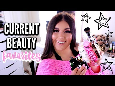 CURRENT BEAUTY FAVORITES | Makeup, Skincare, Haircare, Brushes & Tools ♡ Deanna Borocz thumbnail