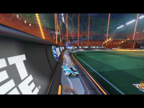 Rocket League FX goal player view