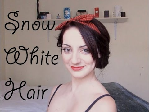 ♥ Snow White Hair Tutorial ♥