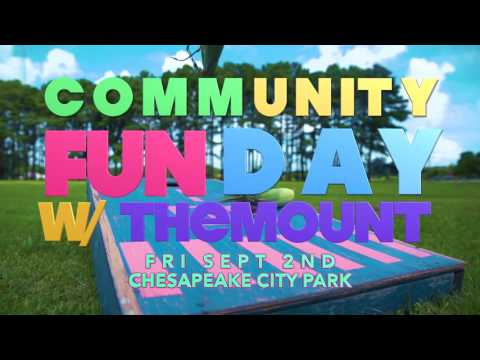 Community Fun Day with The Mount | Sept 2nd