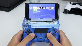 How to PLAY PS4 ON ANDROID! (EASY METHOD) (PS4 Remote Play)