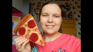 Pizza slice squishy tutorial!!! Collab with PinkFish