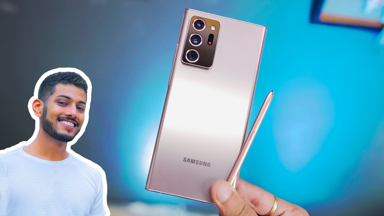 Samsung Note 20 Ultra Impressions   Big and Bold !