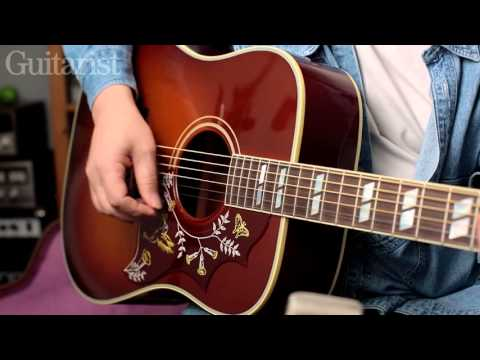 Gibson Vintage J-45 & Vintage Hummingbird Acoustics demo