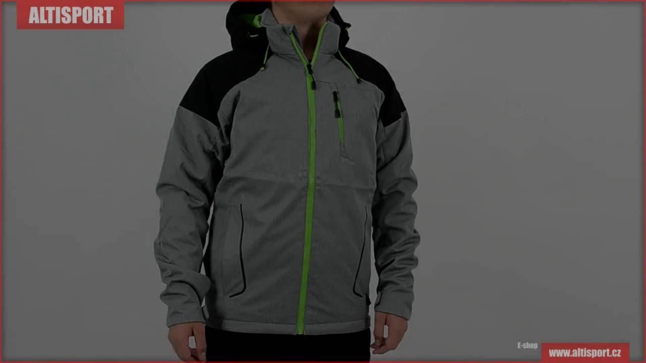 pánská softshellová bunda alpine pro takh ins šedá - YouTube a2ea7af37a6