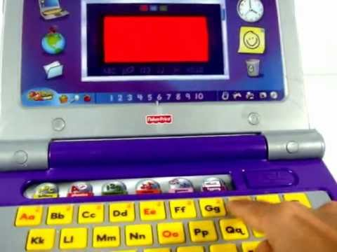 Fisher-Price Fun 2 Learn Color Flash Laptop