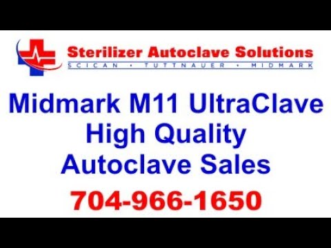 Midmark M11 UltraClave Autoclave Quality You Can See
