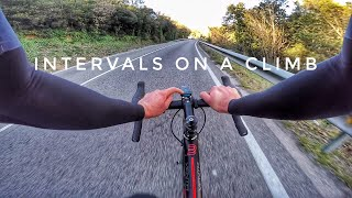 VO2MAX INTERVALS on a Climb, a tough day in Girona! / day 2