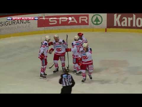 Erste Bank Eishockey Liga 17/18, 6. Platzierungsrunde: KHL Medvescak Zagreb vs. EC-KAC 2:4