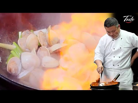 The Perfect Stir Fry Clams by Masterchef • Taste The Chinese Recipes Show