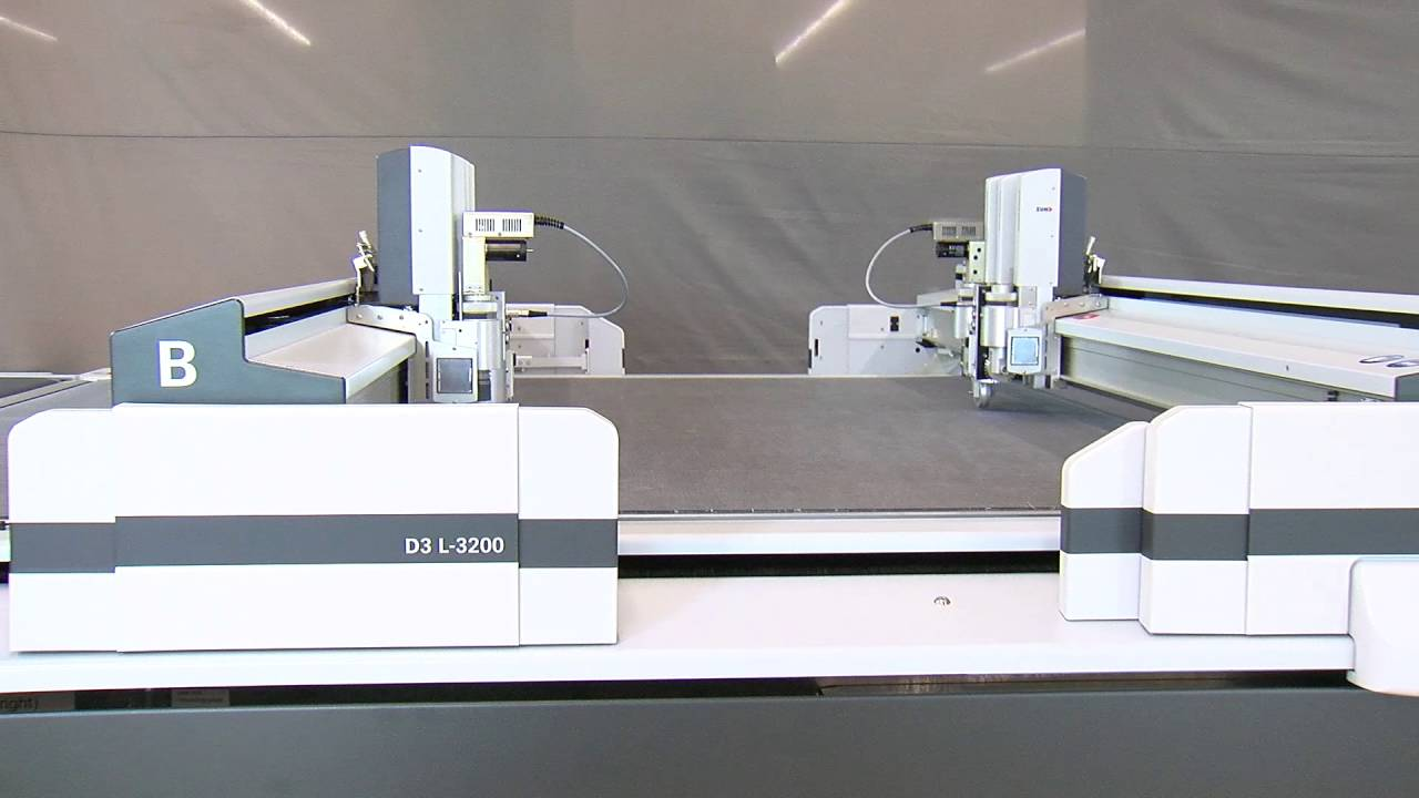 Unveiling the new Zünd D3 Digital Cutter - YouTube
