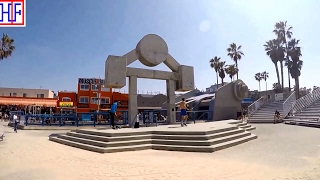 Los Angeles (LA) | Venice Beach and Canals Walkways | Tourist Attractions | Episode# 6