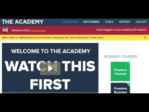 Internet Business Mastery Academy - An In Depth Review