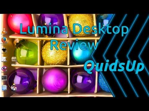 Desktop December - Lumina Desktop