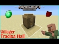 Mcpe Redstone: Villager Trading Booth (Super Compact)