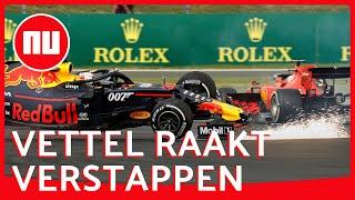 Crash van Max Verstappen en Sebastian Vettel: welke fout maakte Vettel?