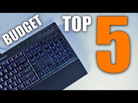 Top 5 Budget Gaming Keyboards of 2018