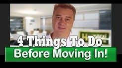 4 Things To Do After Closing But Before Moving In!