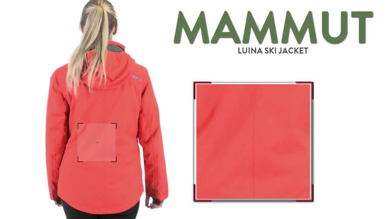 Mammut luina jacket