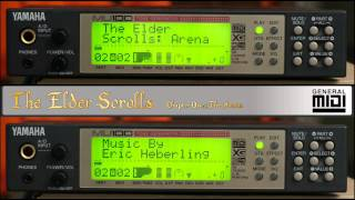 The Elder Scrolls: Arena - The Complete Soundtrack by Eric Heberling, (Yamaha MU100, General Midi)