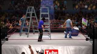 WWE 2K14 - Game Grumps Free-for-All Tables, Ladders, and Chairs Match