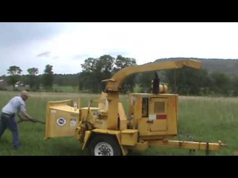Morbark 290 Wood Chipper Towable 12