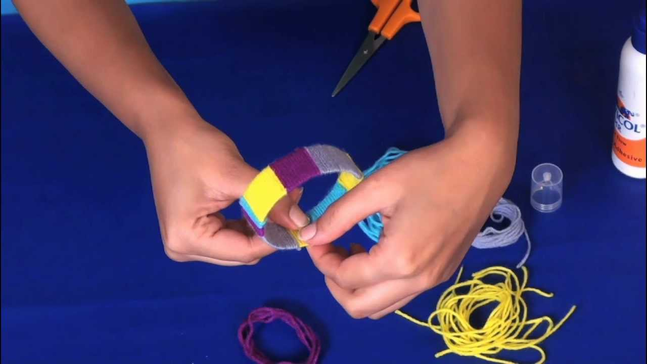 Youtube Art And Craft: How To Make Bangles