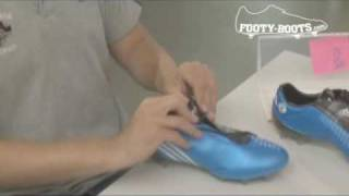 Lionel messi's adidas f50i football boots - the making of