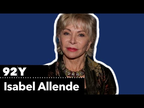 Isabel Allende Reads From Her Novel, A Long Petal Of The Sea